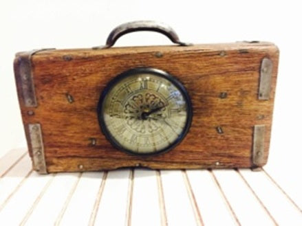 Upcycled Brick Mould Clock