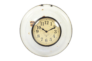 Old Ceramic Bowl Clock