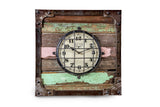 Reclaimed Wooden Wall Clock