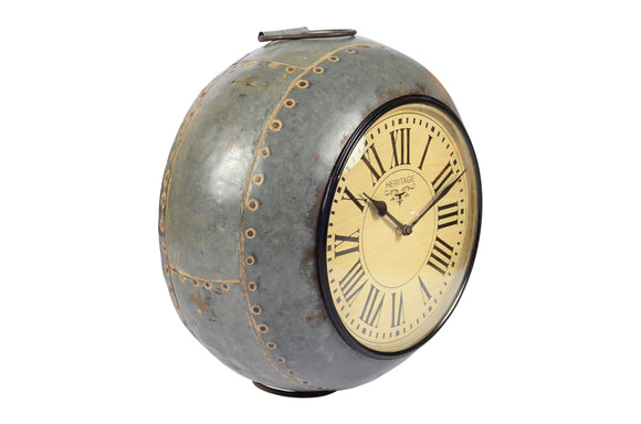 Old Iron Pot Clock