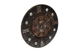 Iron Clutch Plate Clock