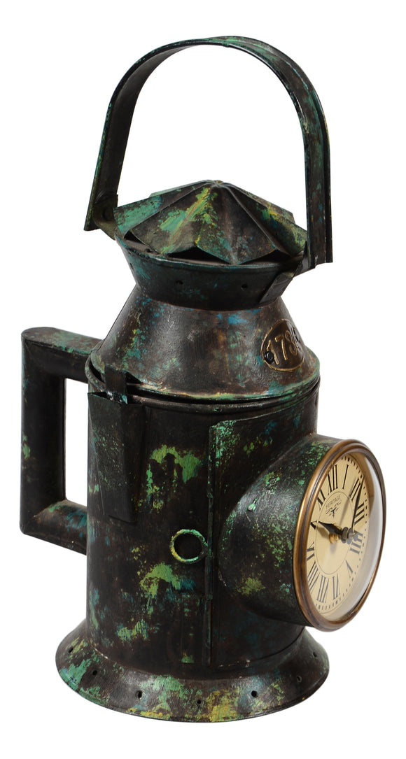 Iron Railway Lantern Clock