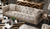 Harlow Tufted 3 Seater Sofa