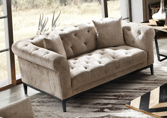 Harlow Tufted 2 Seater Sofa