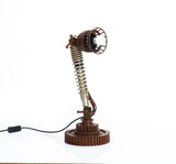 Iron Cog Table / Desk Lamp