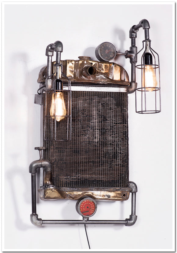 Radiator Design Wall Lamp