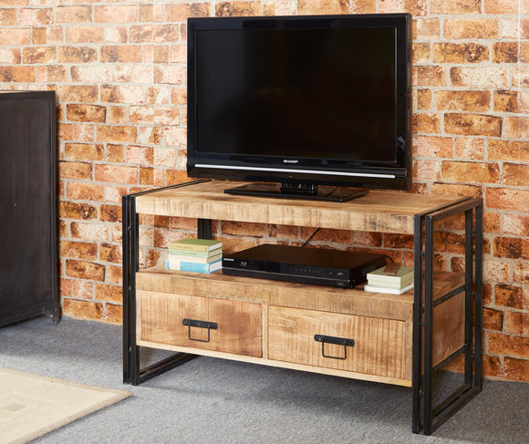 Cosmo Industrial TV Unit - Kate Newington Interiors