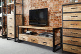 Cosmo Industrial Large TV Media Unit - Kate Newington Interiors