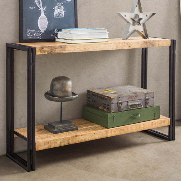 Cosmo Industrial Console Table - Kate Newington Interiors
