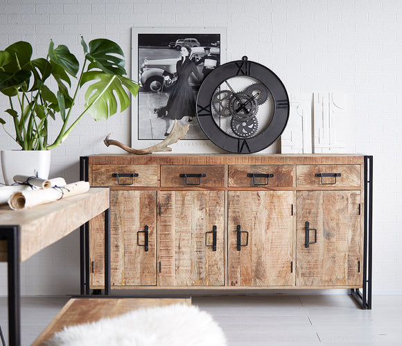 Cosmo Industrial Extra Large Sideboard - Kate Newington Interiors