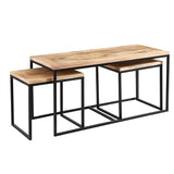 Cosmo Industrial John Long Coffee Table