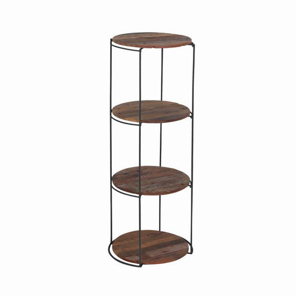 Clovelly Side Table with 4 Shelves (Large)