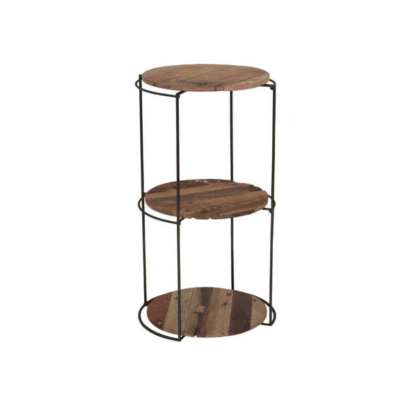 Clovelly Side Table with 3 Shelves (Medium)