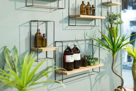 Clovelly Set of 5 Wall Display Shelves