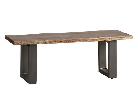 Baltic Live Edge Medium Bench - Kate Newington Interiors