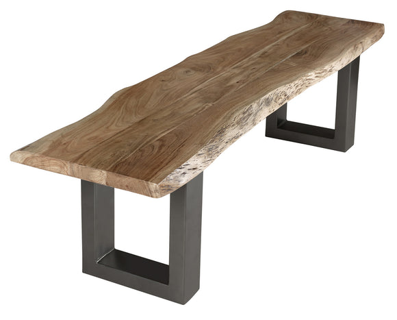 Baltic Live Edge Large Bench - Kate Newington Interiors