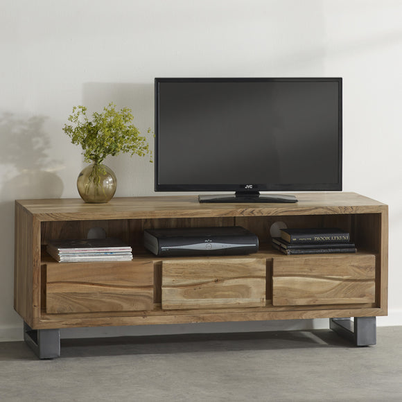 Baltic Live Edge TV Media Unit - Kate Newington Interiors