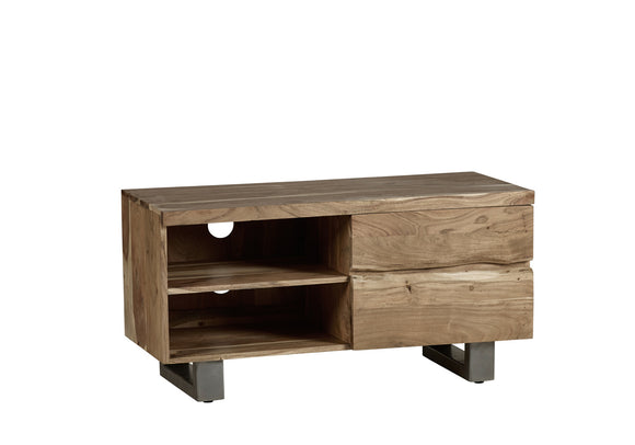Baltic Live Edge 2 Door Small TV Unit