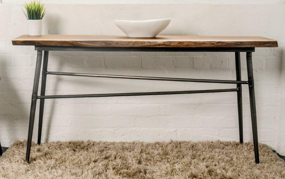 Komi Live Edge Console Table
