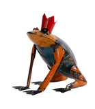 Recycled Iron Frog Prince
