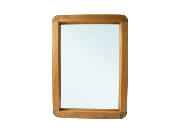Oxford Lounge Oak Mirror