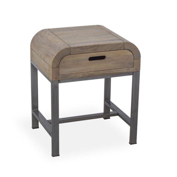 London Lounge Side Table with Drawer