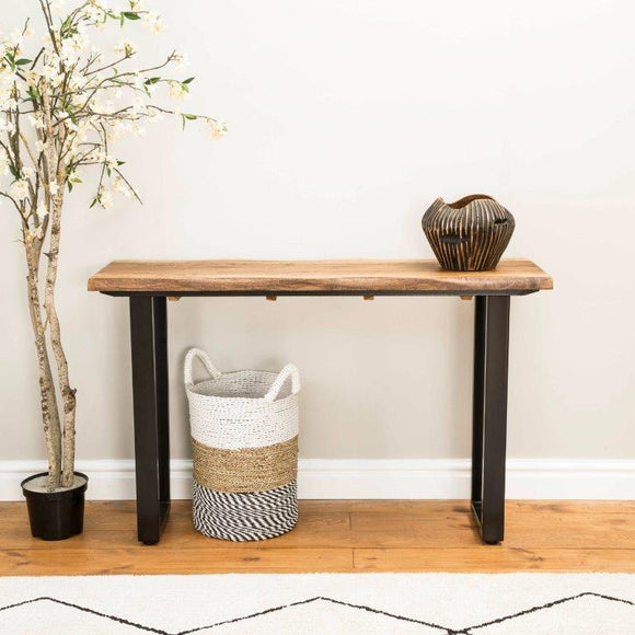 Kensington Live Edge Console Table