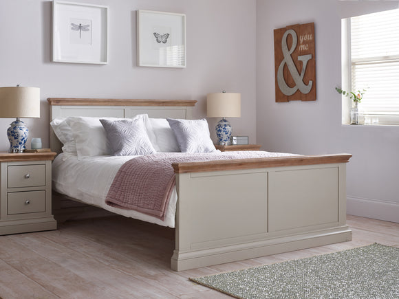 Rosa Low End 5ft King Size Bed