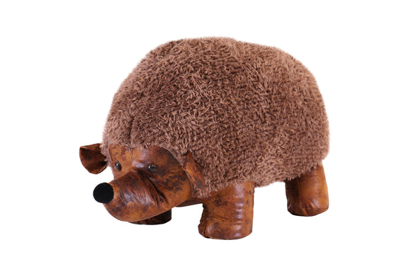 Brown Hedgehog Stool