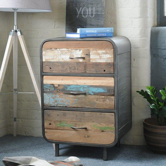 Metro Coast 3 Drawer Chest