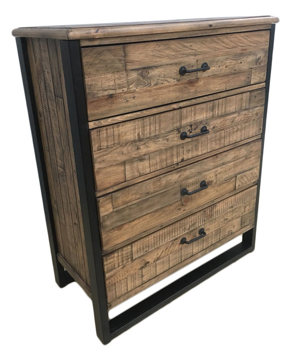 Urban Loft 4 Drawer Chest