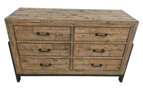 Urban Loft Dresser with 6 Drawers