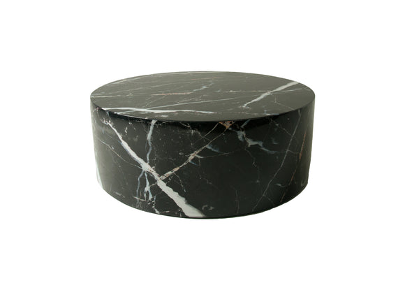 Marble Coffee Table - Black