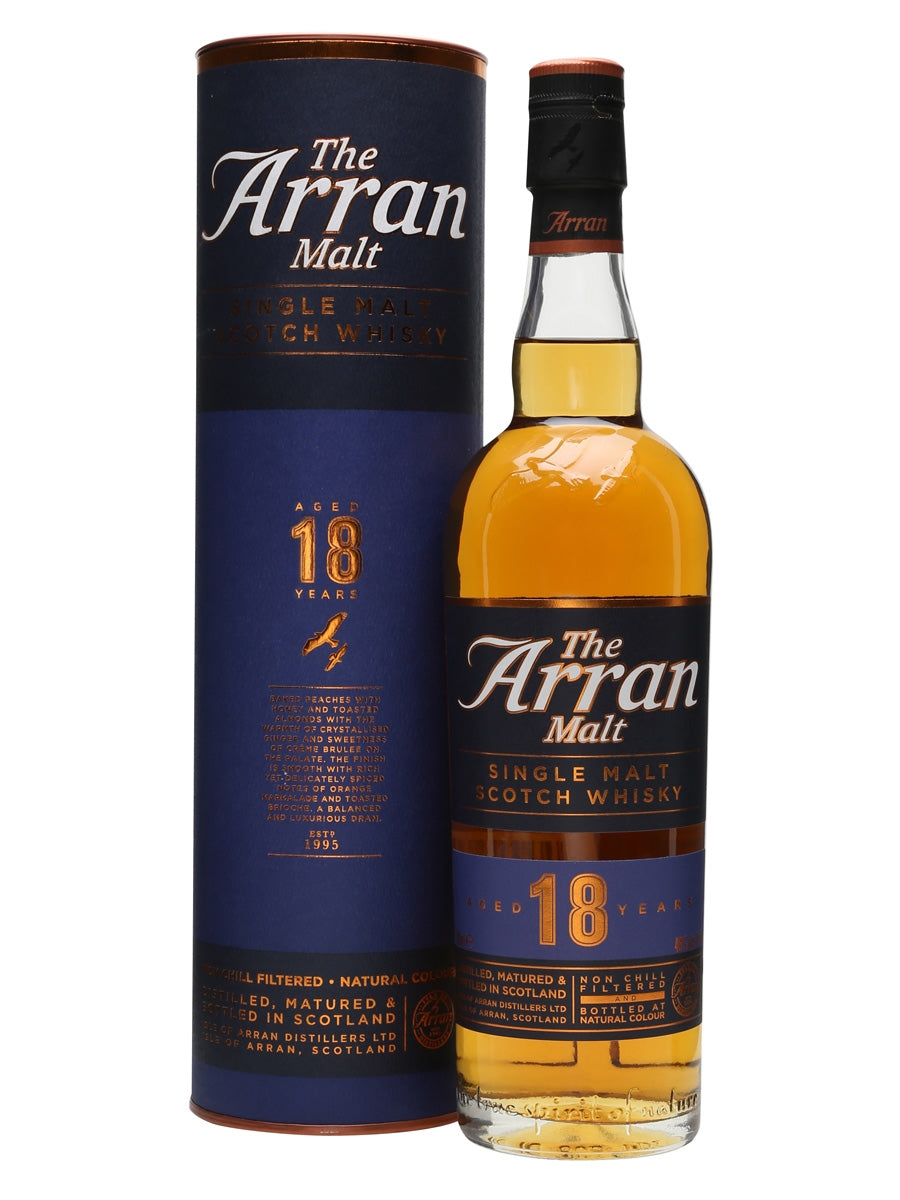The Arran Single Malt Whisky 18 Years