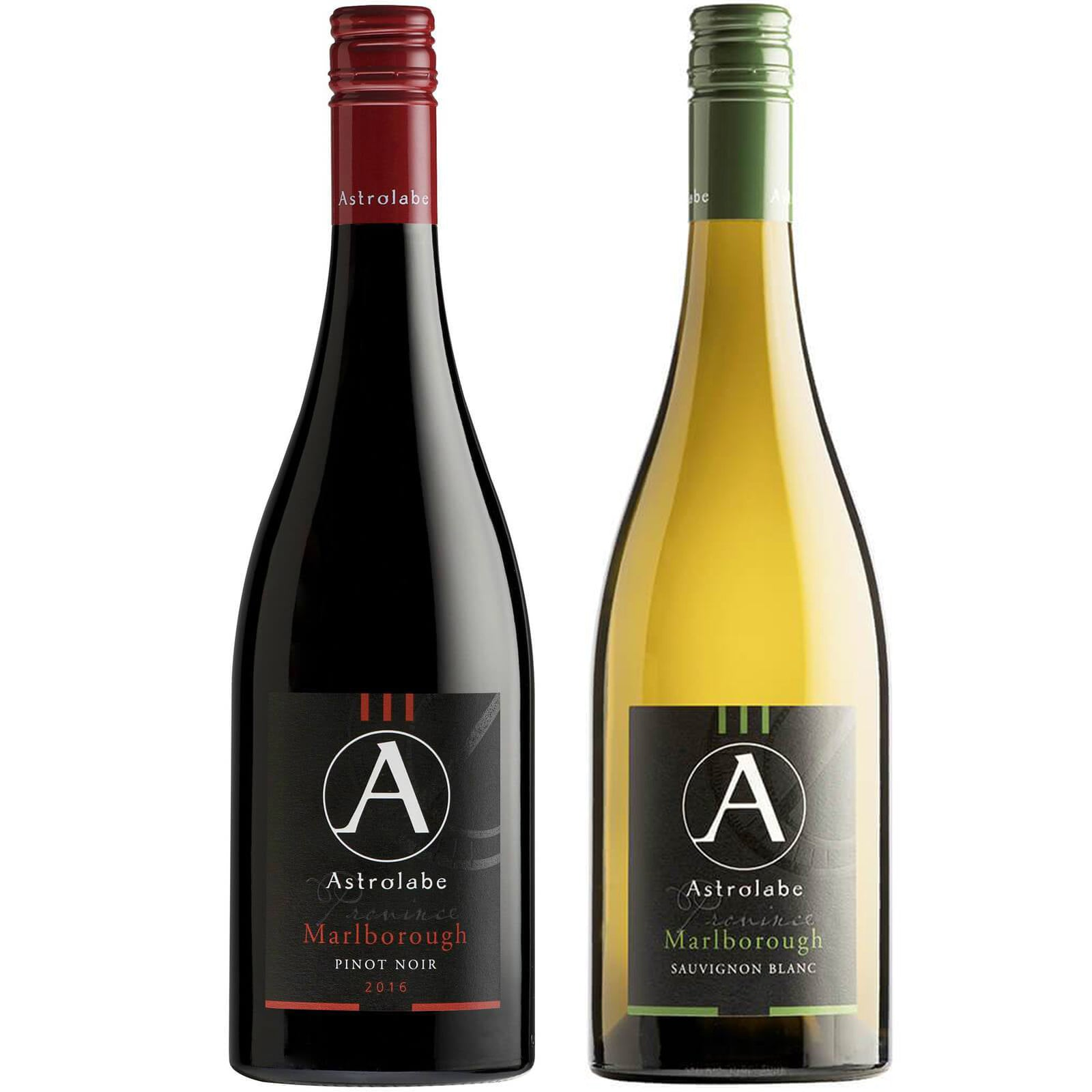 Astrolabe Marlborough Sauvignon Blanc 2018 & Astrolabe Marlborough Pinot Noir 2016