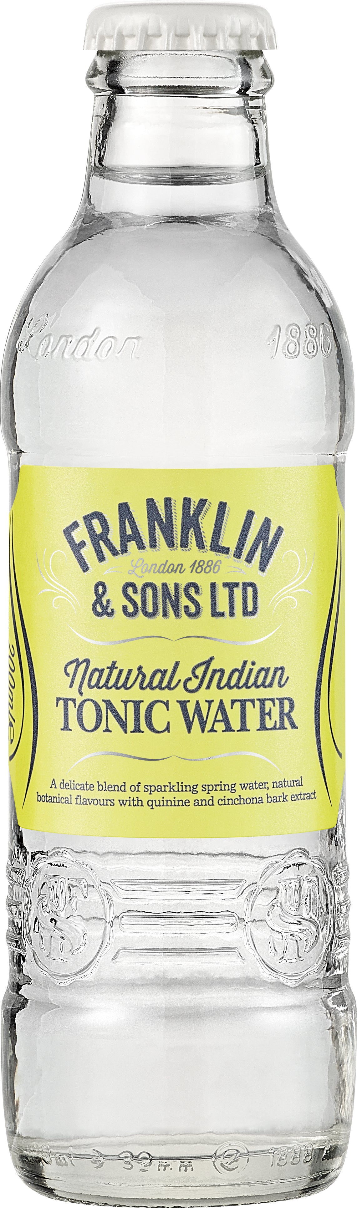 Franklin & Sons Indian Tonic Water (24 x 200ml bottles)