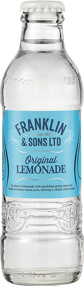 Franklin & Sons Original Lemonade (24 x 200ml Bottles)