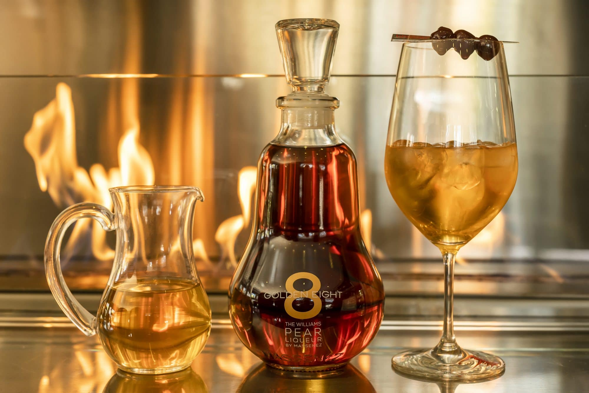 Massenez Williams Golden 8 Pear Liqueur