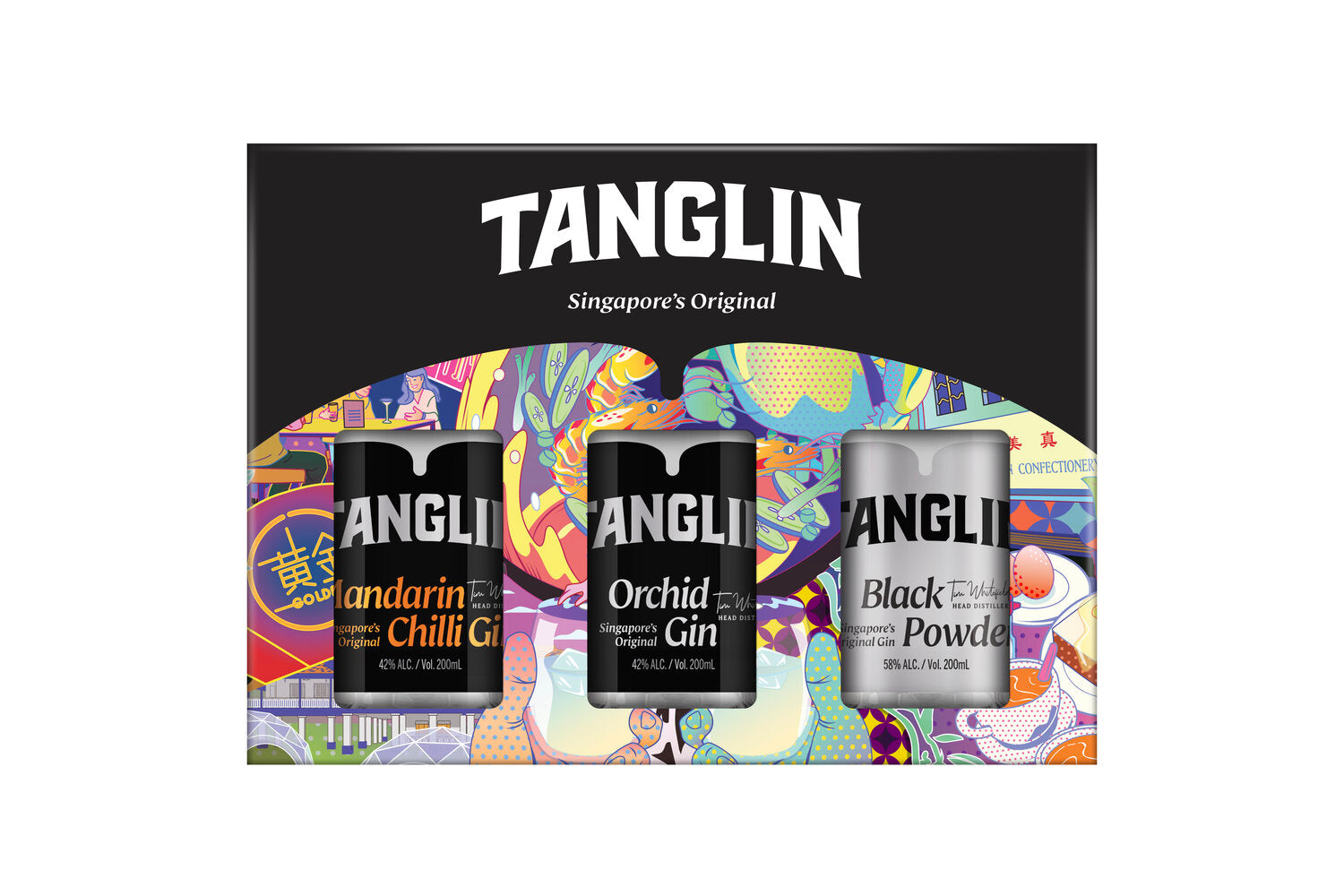 Tanglin Gin Variety Pack