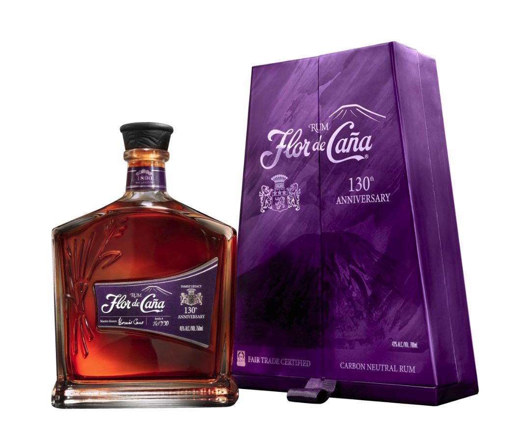 Flor de Caña 130th Anniversary Rum 20 years