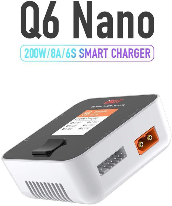 ⚡️Buy ISDT Q6 Nano 200W DC Charger - www.kingquad.shop
