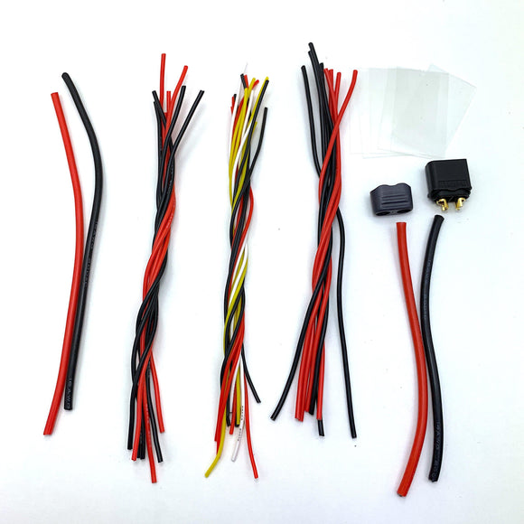 ⚡️Buy Quadcopter/Drone Build Cable Set For ESC & FC (KISS/Betaflight) - www.kingquad.shop