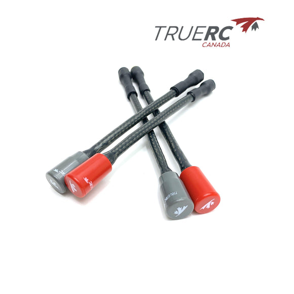 ⚡️Buy TrueRC Matchstick 5.8ghz Reinforced RP-SMA Antenna – Carbon Edition (Long) - www.kingquad.shop