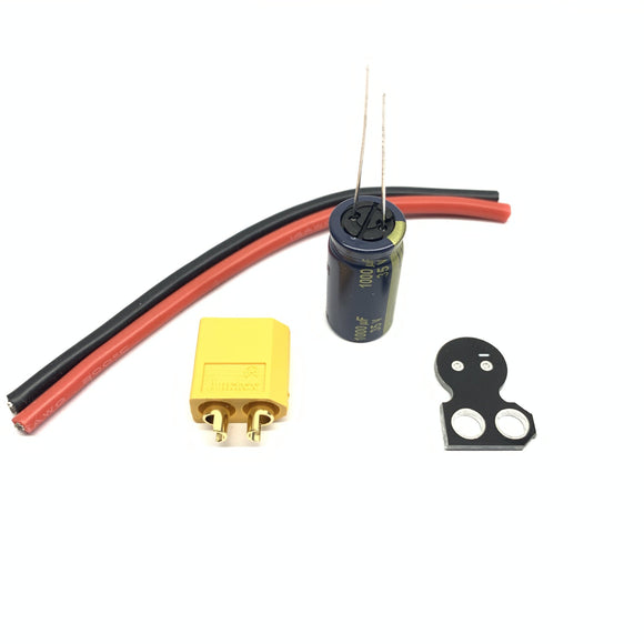 ⚡️Buy Amass XT60 14AWG Pigtail With 1000UF 35V Capacitor (Kit) - www.kingquad.shop