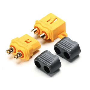 ⚡️Buy Amass XT60L Male & Female Connector With Sheath Housing - www.kingquad.shop