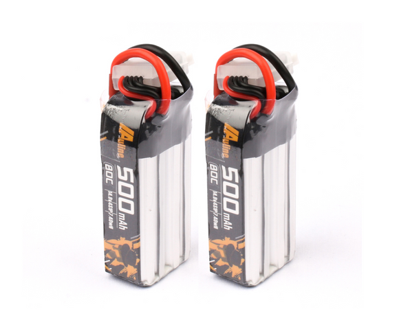 Auline 4S 500mAh 15.2v 80C XT30 for 3in Toothpick FPV and Naked Cinewhoop