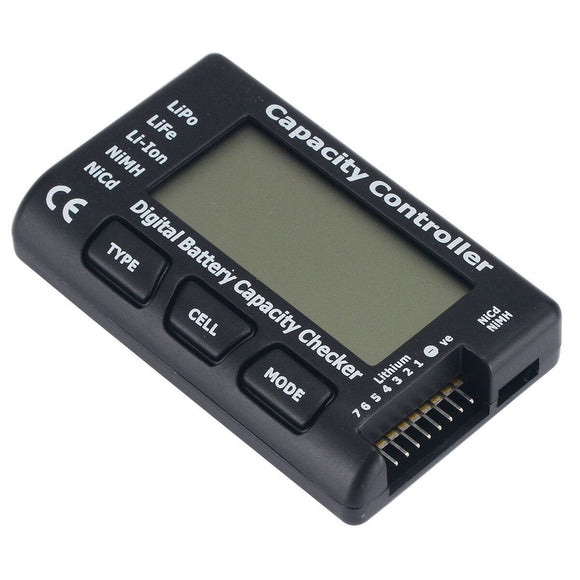 ⚡️Buy Digital Battery Capacity Tester Checker Controller LCD For LiPo LiFe NiMH Li-ion - www.kingquad.shop