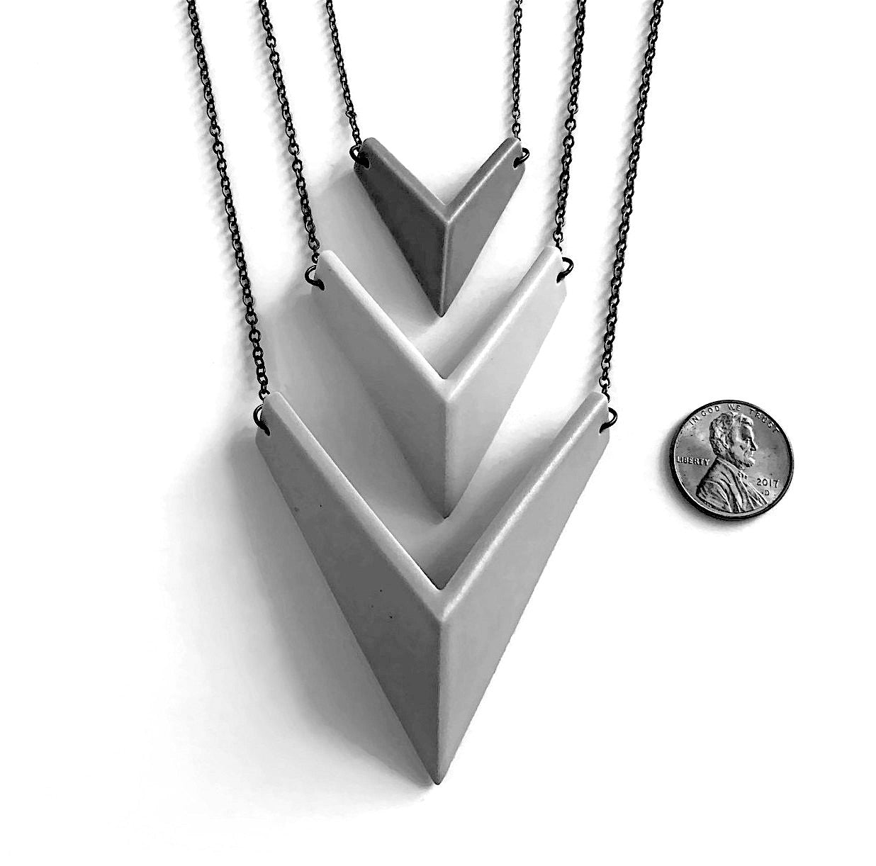 Arrow Quad Necklace