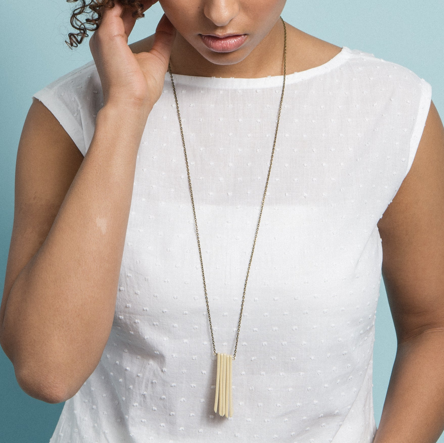 Multi Quad Necklace