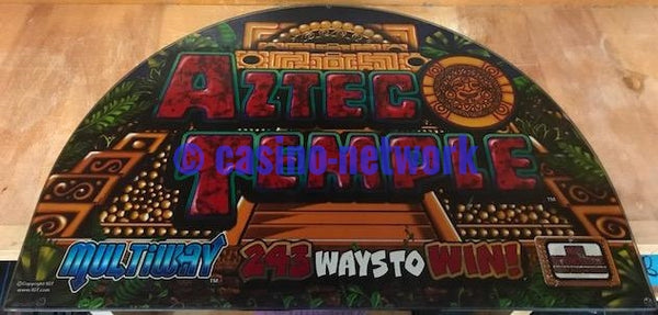 "IGT I Game Aztec Temple 17"" Round top"